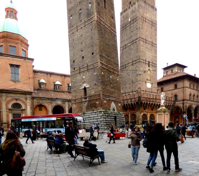 Bologna's very own leaning tower.