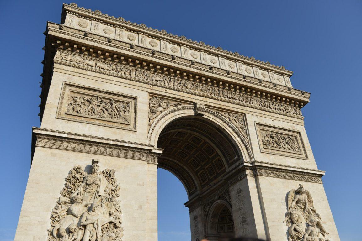 l'arc de le Triomphe