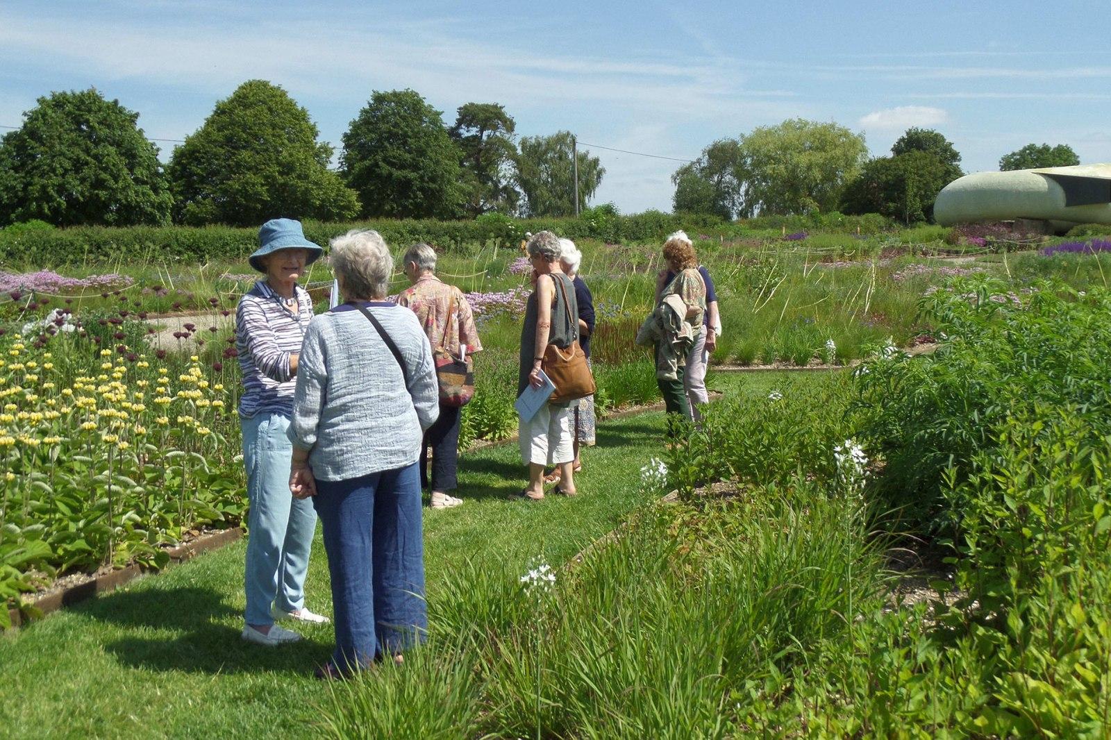 Hauser and Wirth garden